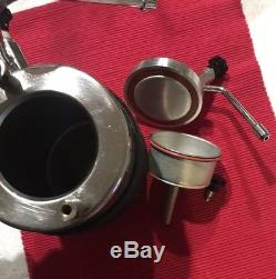 Vintage Milano TCL Italy Stove-top Espresso Cappuccino Coffee Maker Frother