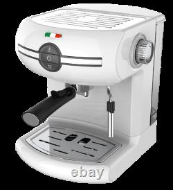 Vintage Traditional Pump Espresso Coffee Machine Manual Cappuccino Not Delonghi