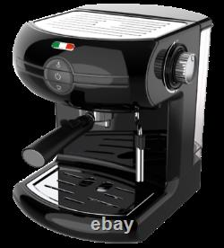 Vintage Traditional Pump Espresso Manual Coffee Machine Not Delonghi Black